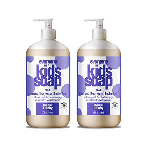 Everyone 3-in-1 Soap for Every Kid Safe, Gentle and Natural Shampoo