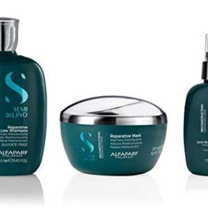 Alfaparf Milano Semi Di Lino Reconstruction Reparative Sulfate Free Shampoo