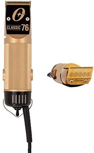 Oster Exclusive Classic Professional Gold Clipper with Gold Plated