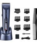 HATTEKER Hair Clippers for Men Cordless Hair Trimmer