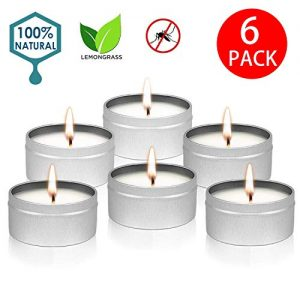 YYCH Citronella Candles Outdoor Indoor Portable Travel