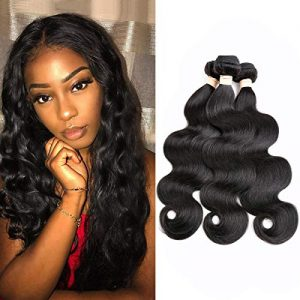 Beauhair Brazilian Human Hair Body Wave 3 Bundles 8A Human Hair