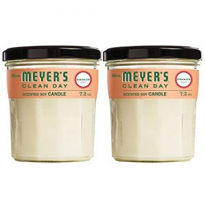 Mrs. Meyer's Clean Day Scented Soy Candle, Large Glass