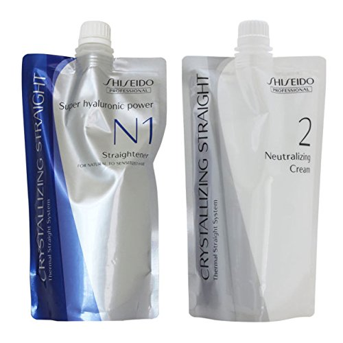 Shiseido Crystallizing Straight For Natural to Sensitized hair