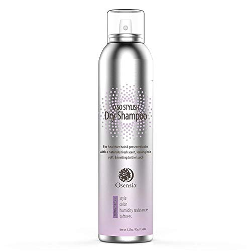 Argan Oil Dry Shampoo for Perfect Next-Day Hair - Volumizing Anti Humidity Spray