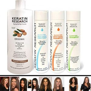 Brazilian Keratin Blowout Straightening Smoothing Hair Treatment