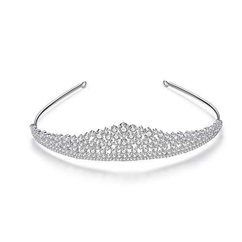 Cubic Zirconia CZ Wedding Bride Crown- AAAAA Grade CZ Crown