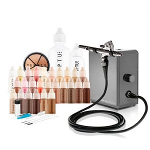 Temptu Pro Plus Deluxe Airbrush Kit: Airbrush Makeup Set