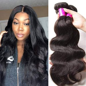 Ali Julia Hair 14 16 18 Inch Brazilian 10A Virgin Body Wave Hair Weave