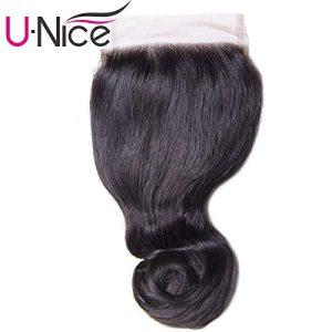 UNice Hair Kysiss Series Brazilian Loose Wave 4x4 Lace Closure