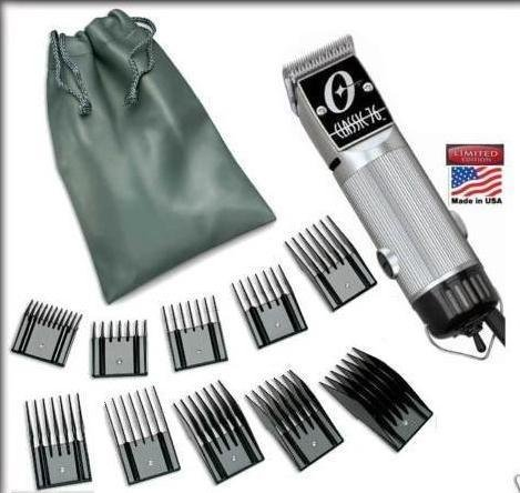 Combo New Oster Classic 76 Limited Edition Hair clipper SILVER