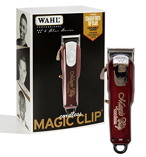Wahl Professional 5-Star Cord/Cordless Magic Clip - Great for Barbers & Stylists