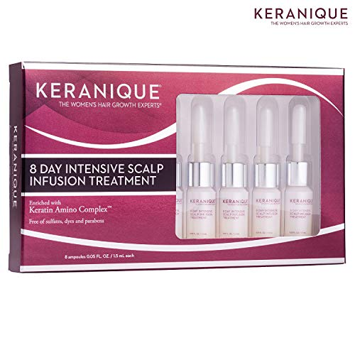 Keranique 8 Day Intensive Scalp Infusion Treatment (8 Ampoules)
