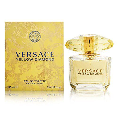 Versace Diamond Eau De Toilette Spray, Yellow