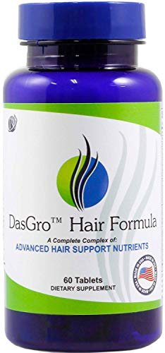 DasGro Hair Growth Vitamins, Biotin & DHT Blocker