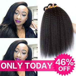 9A Grade Brazilian Yaki Straight Hair 3 Bundles