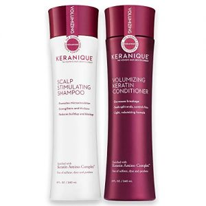 Keranique Shampoo and Conditioner Set for Hair Growth and Thinning Hair