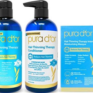 PURA D'OR Hair Thinning Therapy 3-piece Set, Shampoo