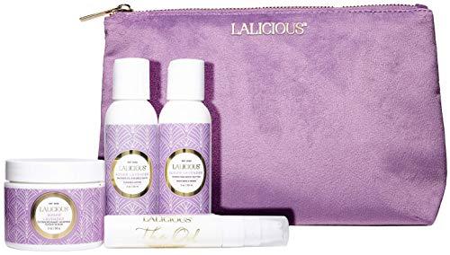 LALICIOUS Sugar Lavender Travel Set - Whipped Sugar Scrub