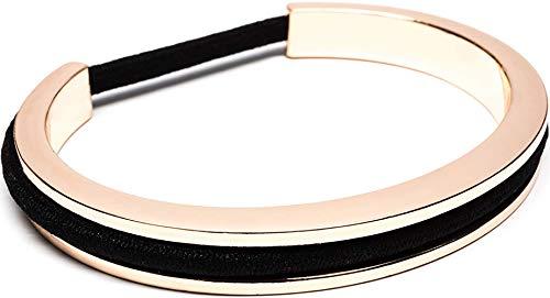 Maria Shireen: Classic Design Hair Tie Bracelet - Stainless Steel Hair Tie Holder