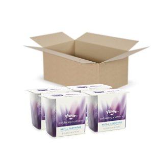 Kleenex Exfoliating Facial & Makeup Remover Pads, 4 Refills