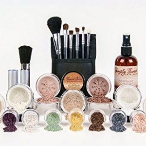 ULTIMATE KIT (WARM- Neutral Shade, Most Popular) Full Size Mineral Makeup Set