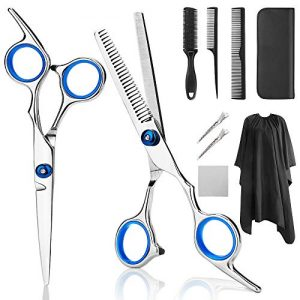 Professional Hair Cutting Scissors, YBLNTEK 9 PCS Barber