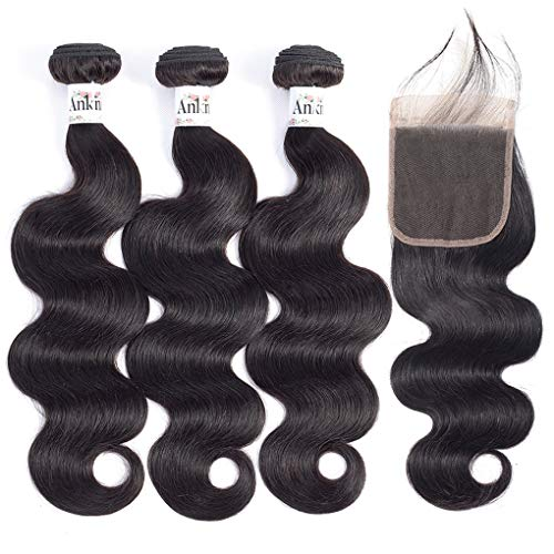 Anknia Brazilian Virgin Hair Body Wave 3 Bundles