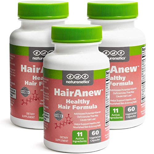 HairAnew (Unique Hair Growth Vitamins with Biotin) - Tested