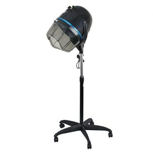 Professional 1300W Adjustable Hooded Floor Hair Bonnet Dryer Stand