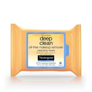Neutrogena Deep Clean Oil-Free Makeup Remover Cleansing Face Wipes