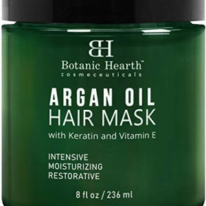 Botanic Hearth Argan Oil Hair Mask - Deep Conditioning Keratin Hair