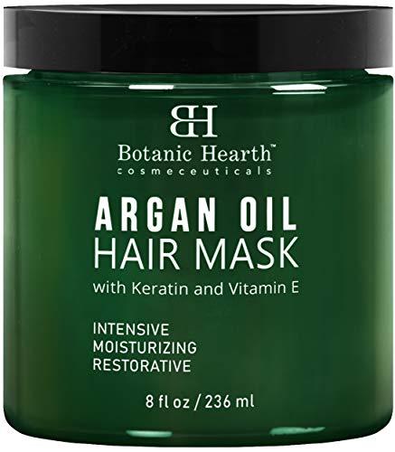 Botanic Hearth Argan Oil Hair Mask - Deep Conditioning Keratin Hair
