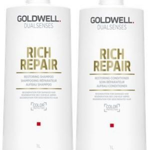 Goldwell Dualsenses Rich Repair Restoring Shampoo & Conditioner