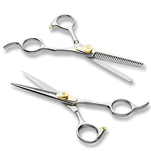 "Professional Barber Scissor Hair Cutting Set - 6.5"" - 1 Straight Edge Hair Scissor"