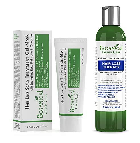 Hair Loss Therapy Shampoo & Scalp Treatment Mask Value Set