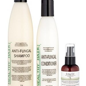 Healthy Hair Plus - Anti Fungal Scalp Treatment Kit Targets Scalp Fungus