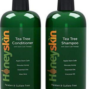Tea Tree Oil Shampoo Conditioner Set - with Manuka Honey
