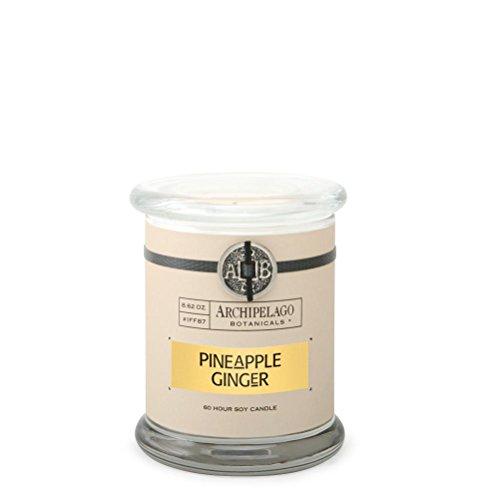 Archipelago Pineapple Ginger Glass Jar Candle