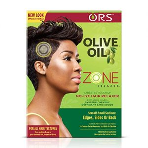 ORS Olive Oil Zone Relaxer Targeted Touch Up No-Lye Hair Relaxer
