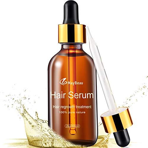 MayBeau Hair Growth Serum, 2 fl.oz Hair Growth Treatment Oil for Men & Women