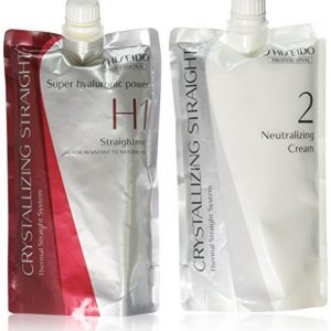 Hair Rebonding Shiseido Professional Crystallizing Hair Straightener