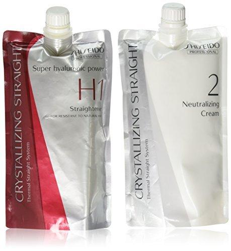Hair Rebonding Shiseido Professional Crystallizing Hair Straightener
