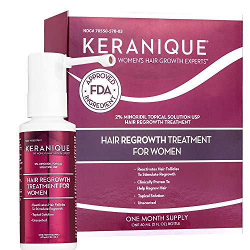 Keranique Hair Regrowth Treatment Extended Nozzle Sprayer