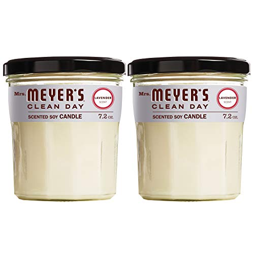 Mrs Meyers Scented Soy Candle
