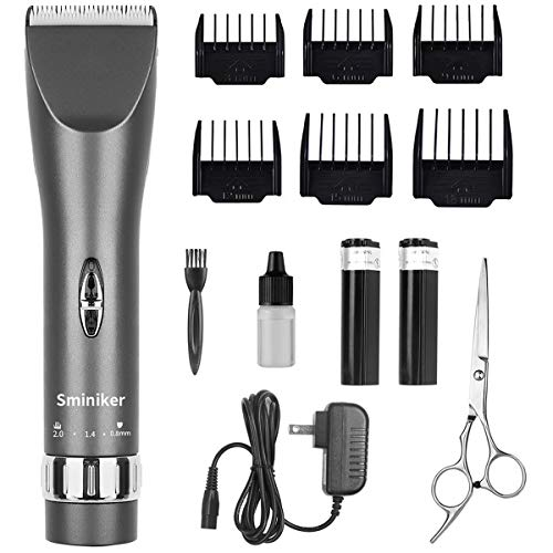 Sminiker Professional Cordless Haircut Kit Clippers for Men