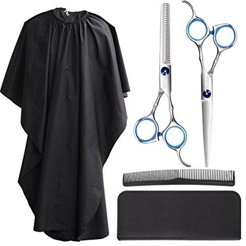 Frcolor Hair Cutting Scissors Set, Professional Haircutting Scissors Barber