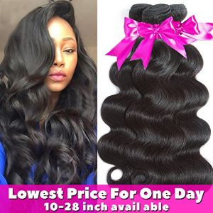 Flady Hair 10A Brazilian Body Wave Virgin Hair 3 Bundles