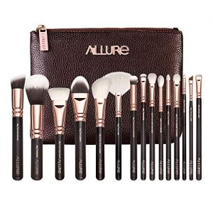 Allure Professional Makeup Brushes Kit (Set of 15)