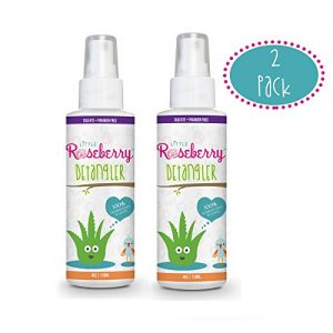 Hair Detangler Spray for Kids. Made with Organic Aloe and Natural Vitamins